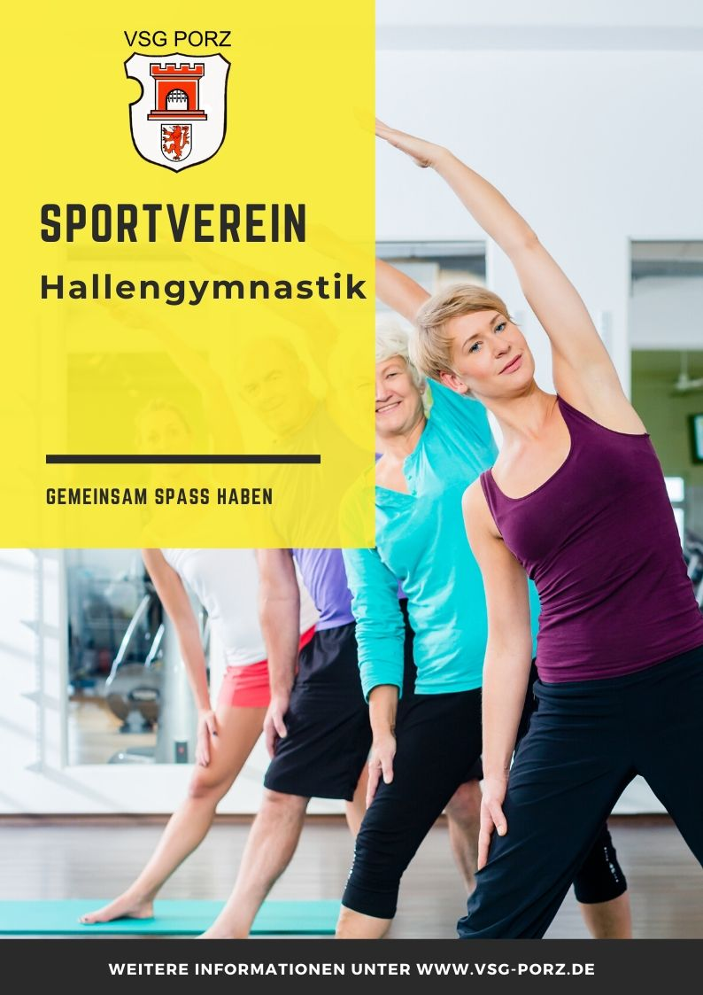 VSG PORZ Poster Hallengymnastik3