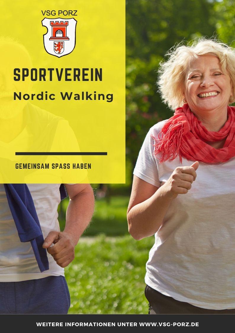 VSG PORZ Poster Nordic Walking